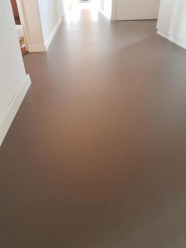 Linoleum in Küche und Wohnzimmer