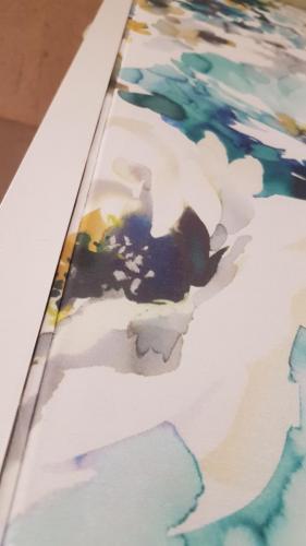 Wandbespannung